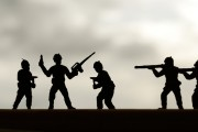 Toy soldiers...
